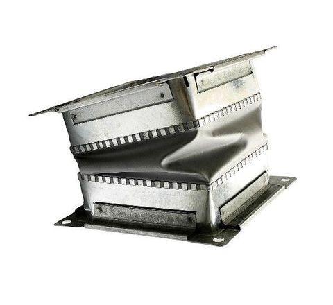 Гибкая вставка 224х224мм с фланцем для вентиляторов ВР 300-45 3,15