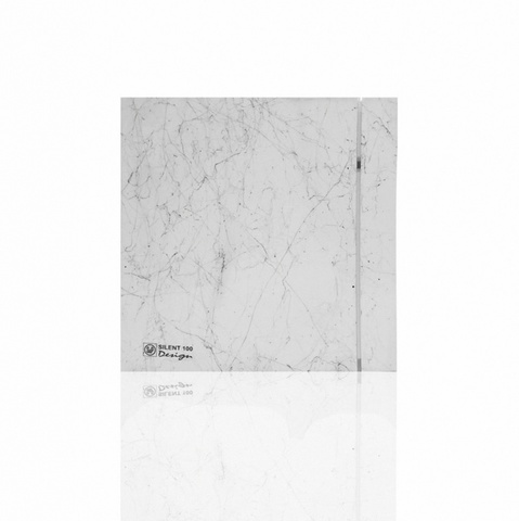 Лицевая панель для вентилятора S&P Silent 100 Design Marble White