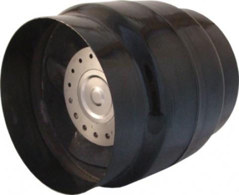 Вентилятор канальный термостойкий ВК 200 (+150°С) с Термостатом (для камина, саун, бань, хамам)