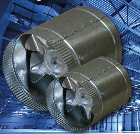 Вентилятор канальный осевой Эра CV-150 d150 (270м3/ч)
